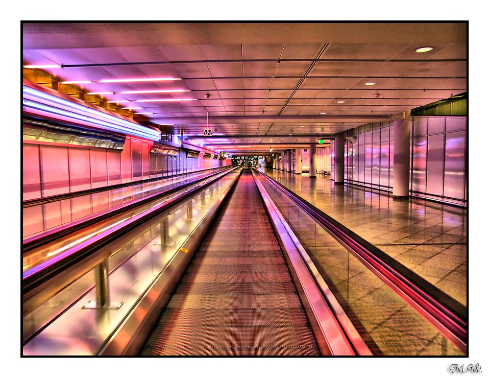HDR Flughafengebäude