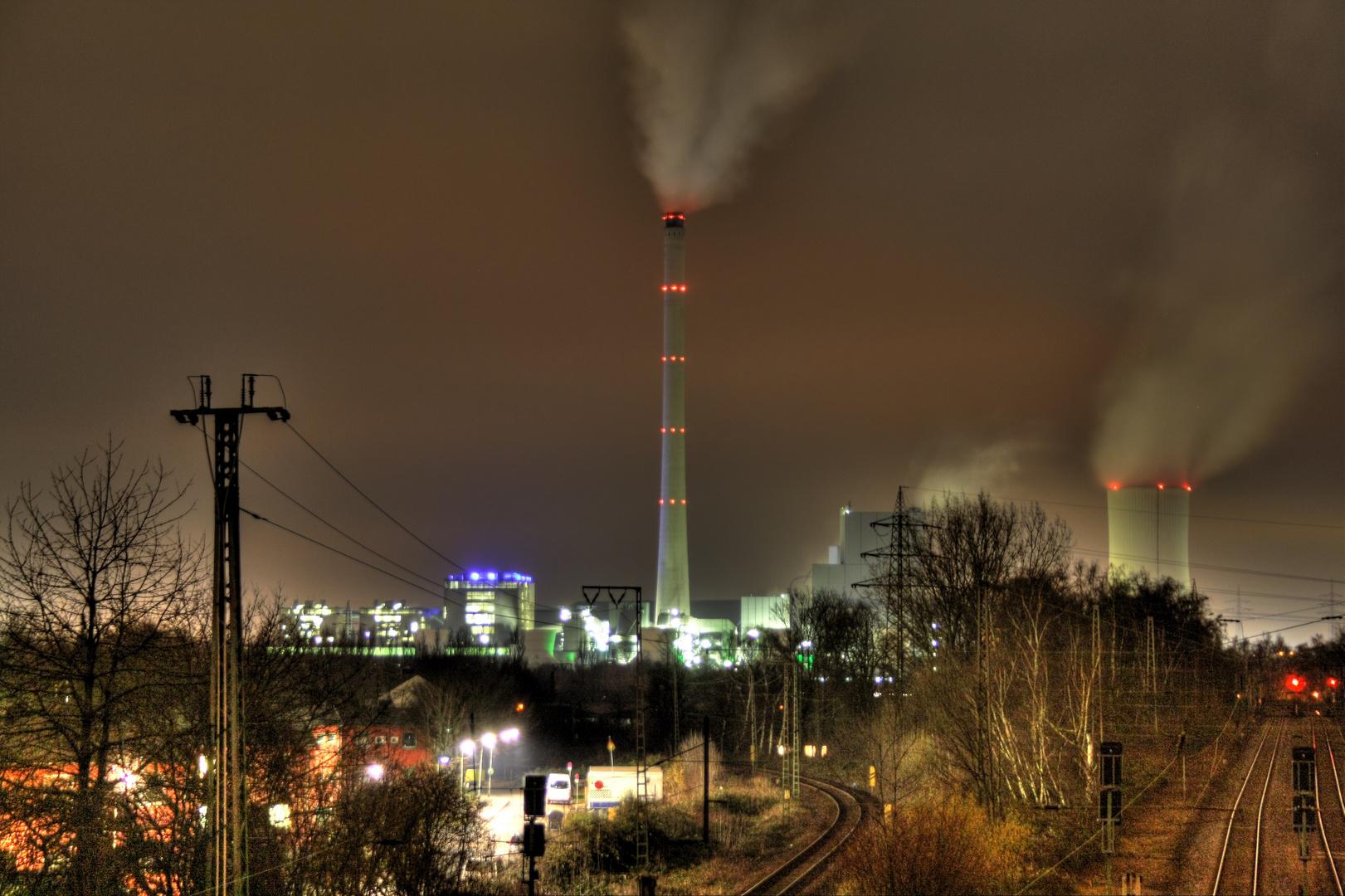 HDR-Fotografie STEAG Kraftwerk in Herne
