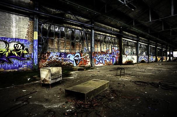 HDR in einer alten Fabrik