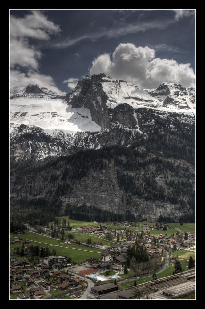 hdr Kandersteg view