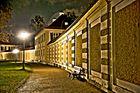 HDR Nymphenburg bei Nacht