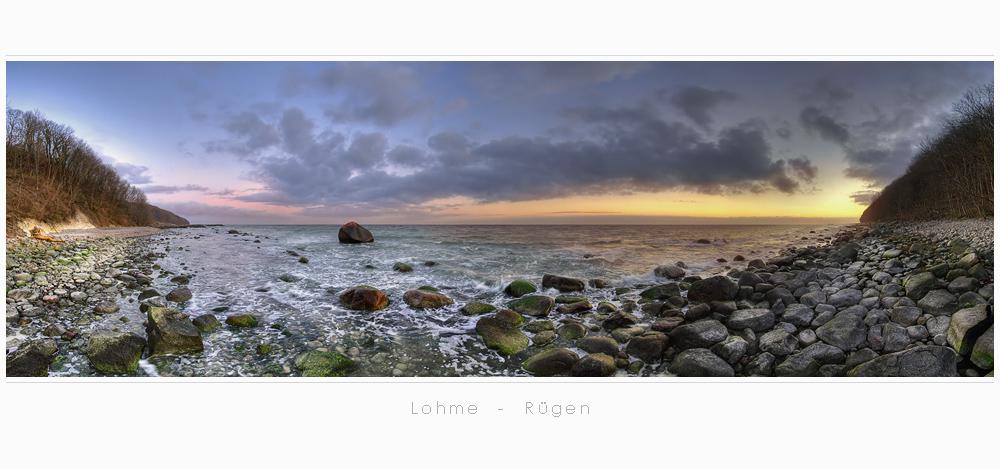 HDR - Panorama Rügen Lohme