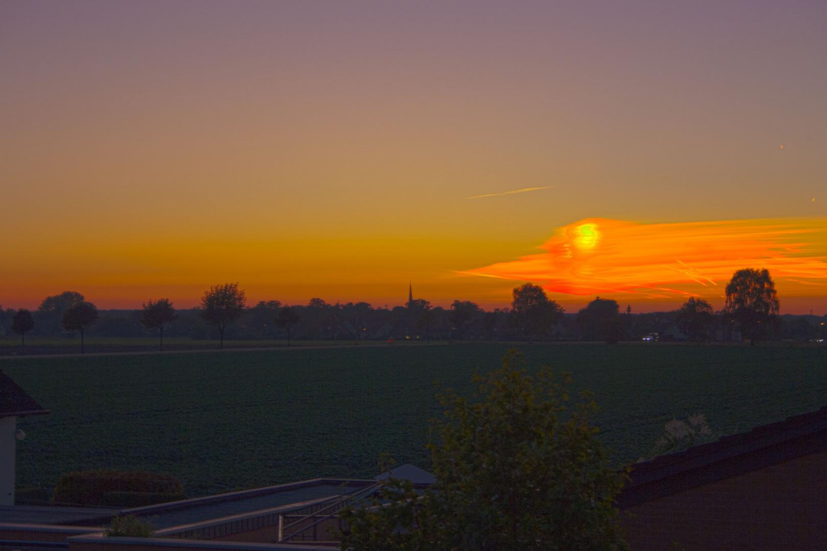 HDR Sonnenuntergang