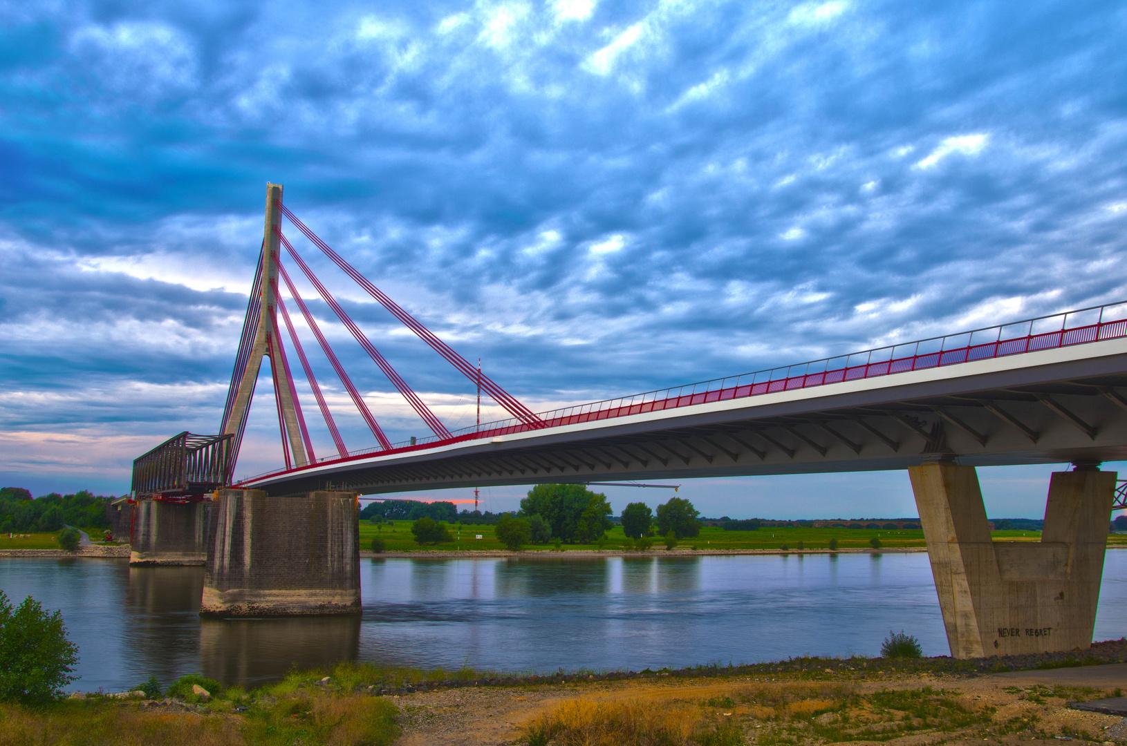 HDR Test 2 Brücke Wesel