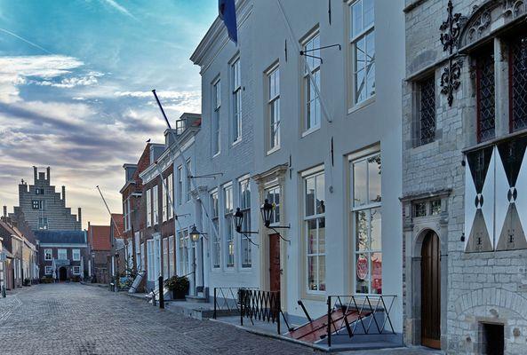 HDR Veere Niederlande 07:00 Sonntags