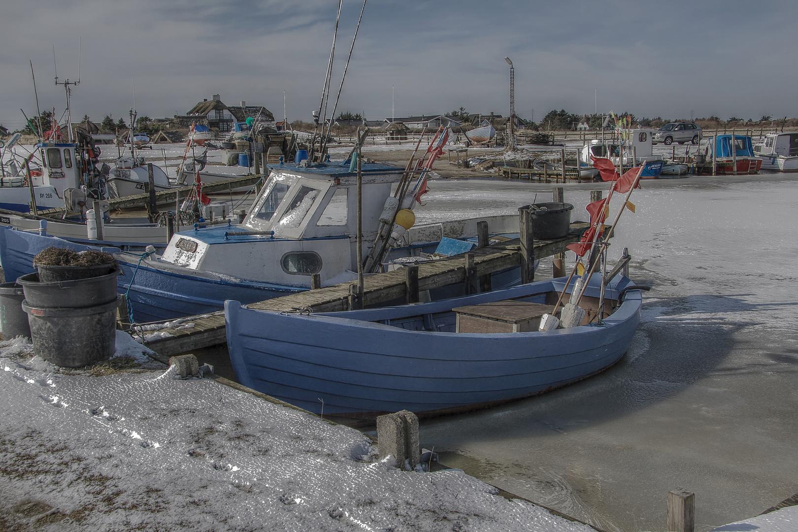 HDR/Hafen Dänemark