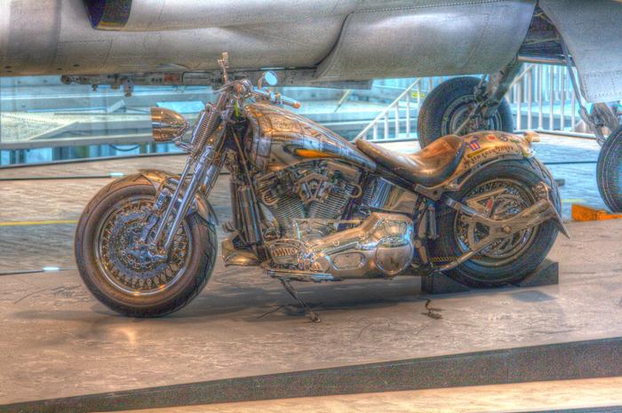 HDRI Motorrad