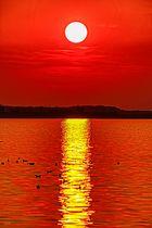 HDRI Sonnenuntergang