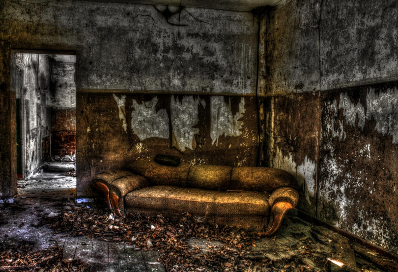 HDRI Versuche - Die Couch