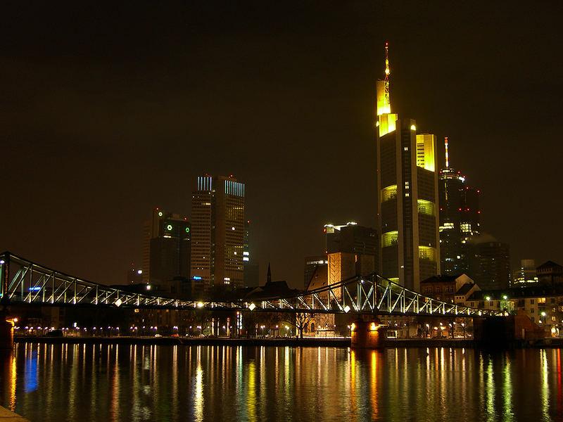 [HE] Ein Ausschnitt der Skyline Frankfurt(Main)