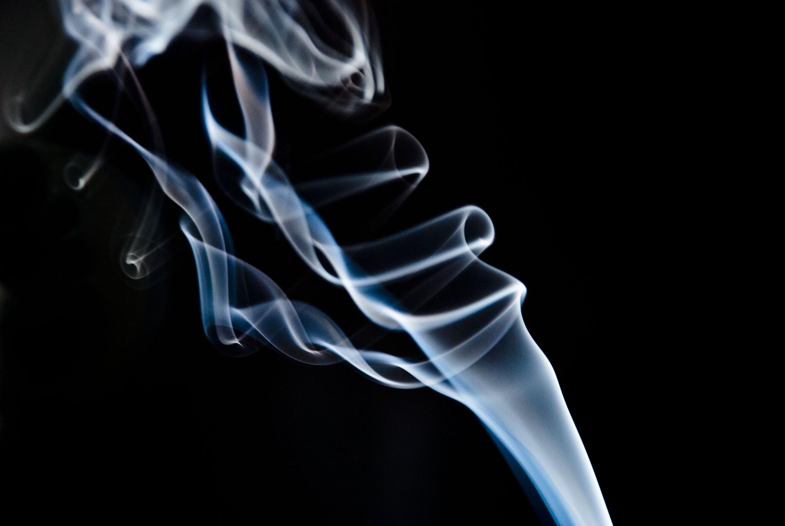 He vuelto a fumar ...
