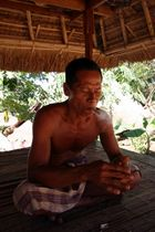 Head of the traditional Sasak village