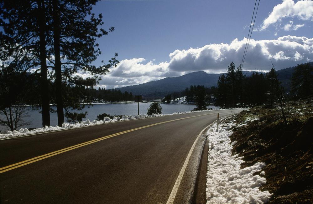 Heading for Mt. Palomar
