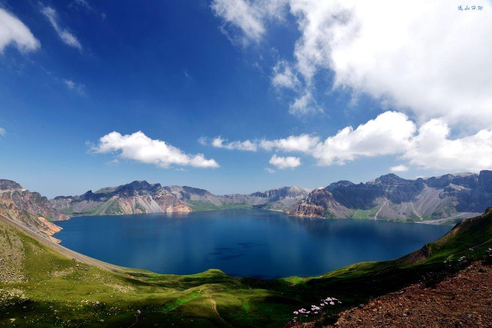 Heaven Lake in the Changbai mountain(4)