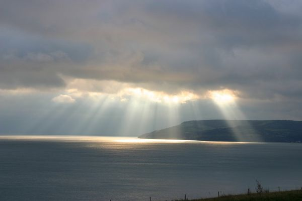 heavenly rays