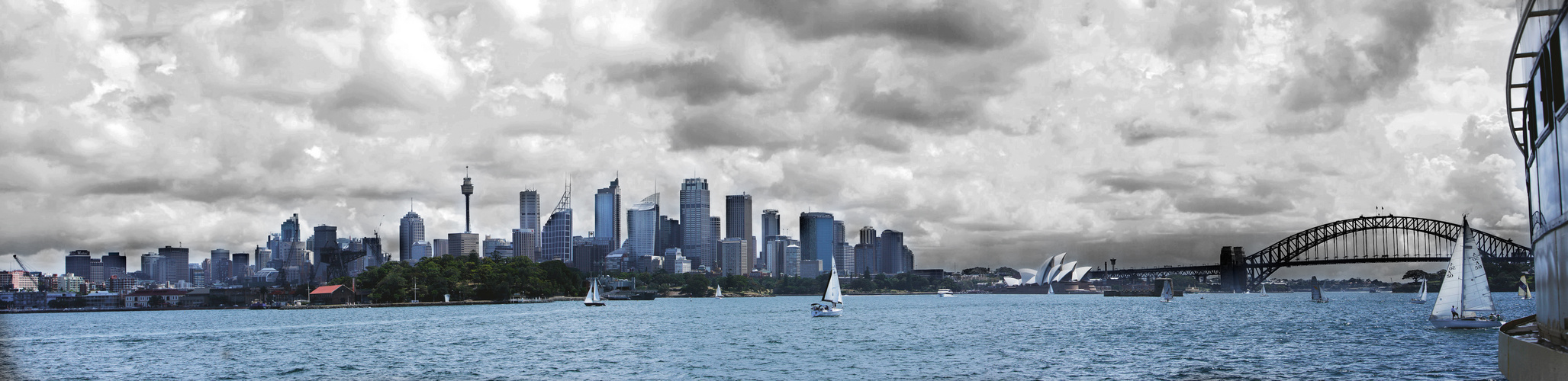Heavy Clouds over Sydney