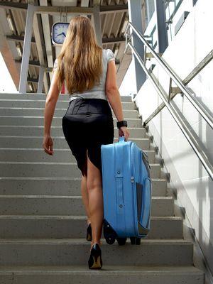 heavy luggage