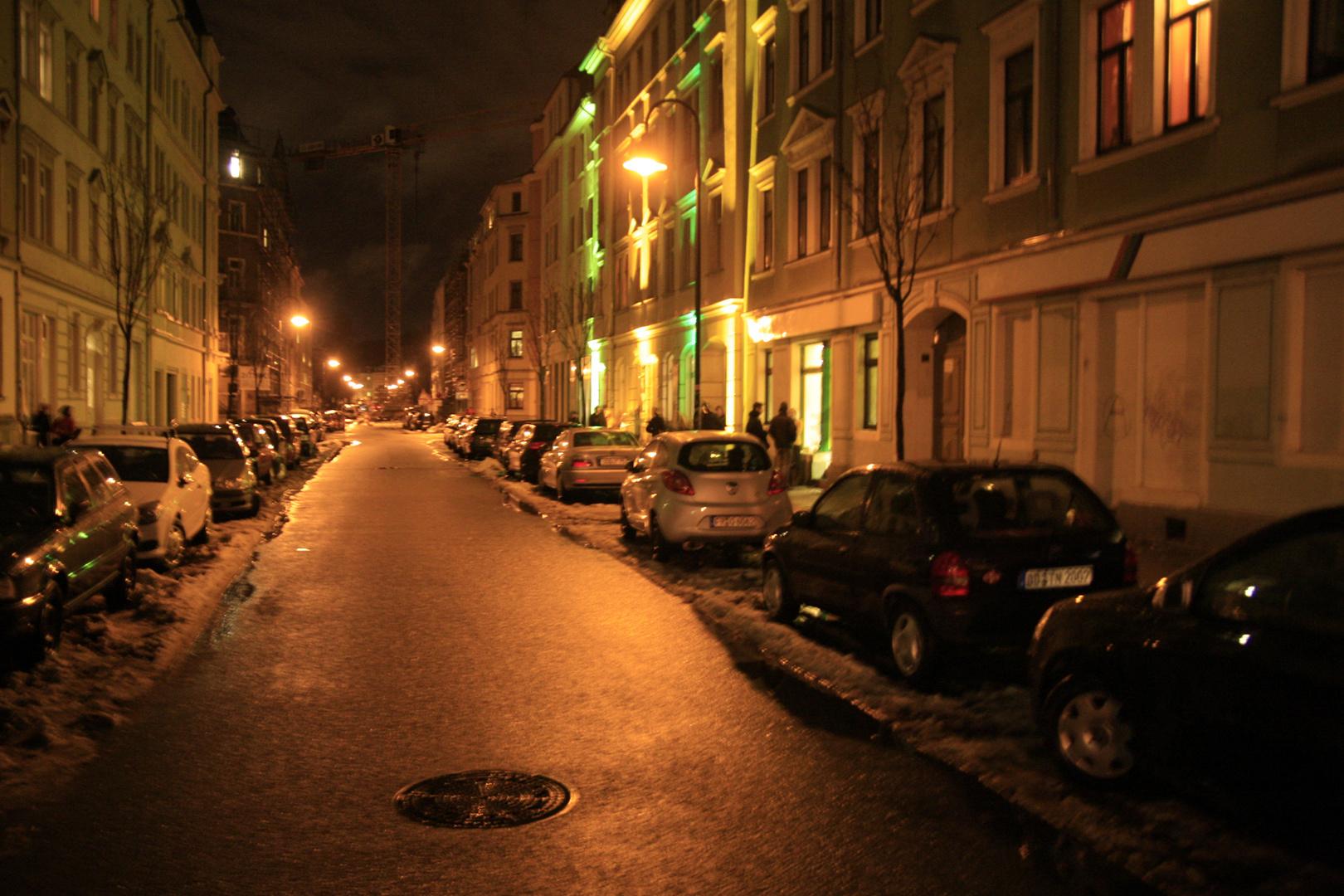 Hechtstraße in Dresden