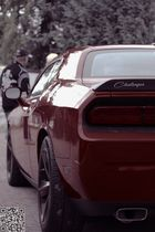 Heck des Dodge Challenger SRT