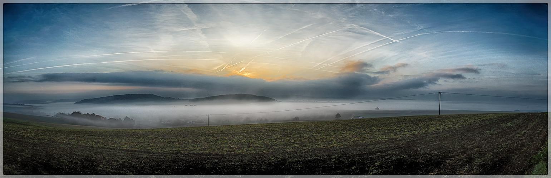 Heegheim im Nebel 2