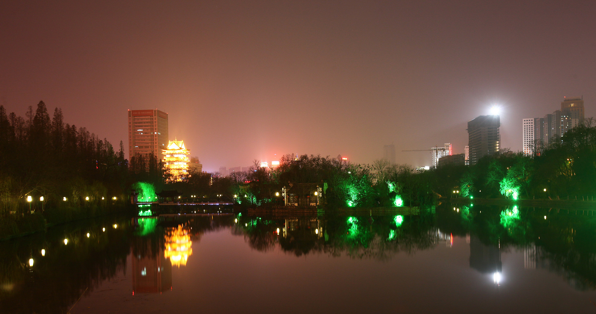 Hefei by night