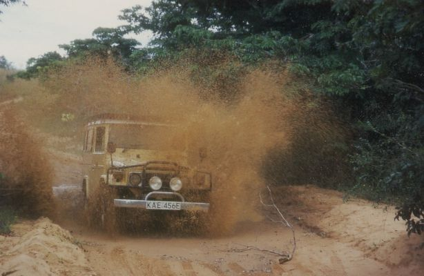 Hei Safari in den Shimba Hills in Kenia