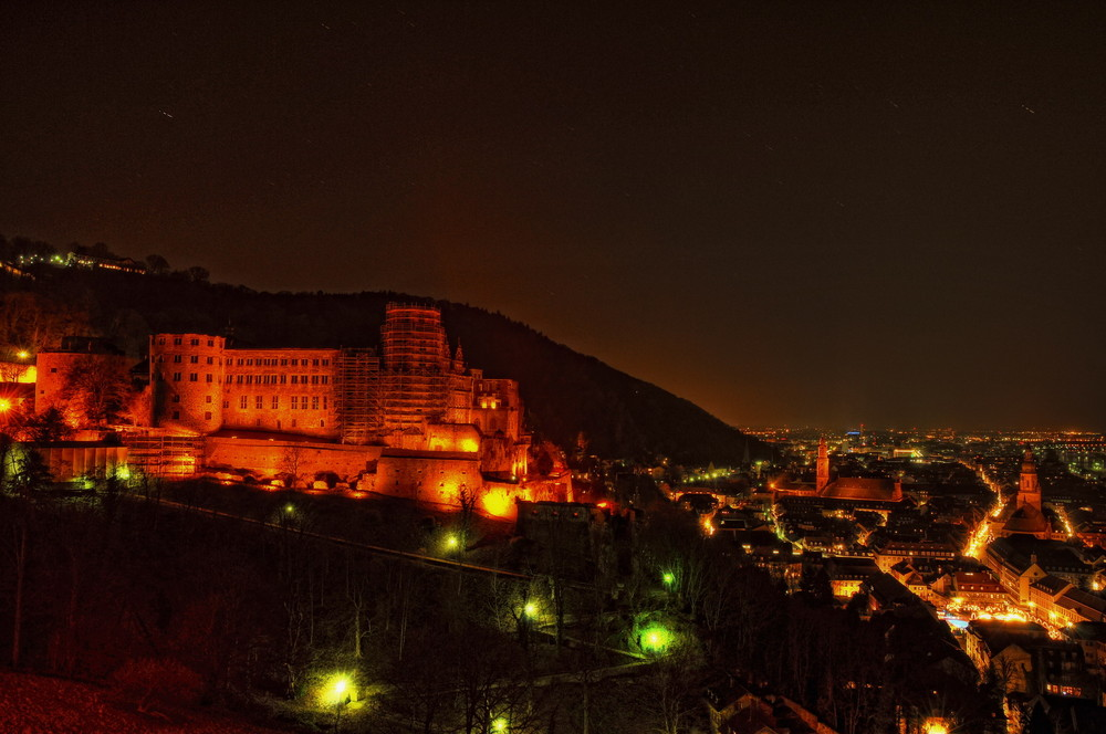 Heidelberg at Night -2-