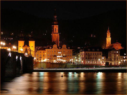 Heidelberg bei Nacht #1