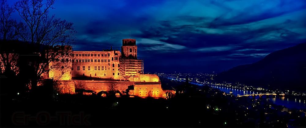 Heidelberg bei Nacht - 4. April 2013