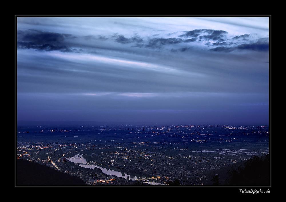HEIDELBERG --> blaue stunde