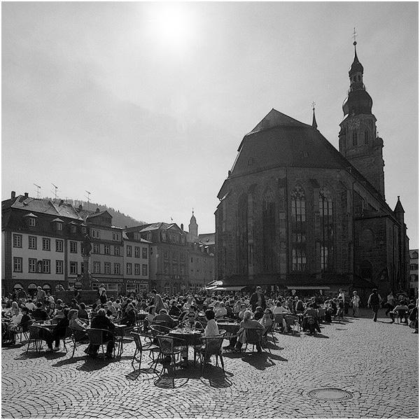 Heidelberg: Frühlingstreiben auf dem Marktplatz (Reload)