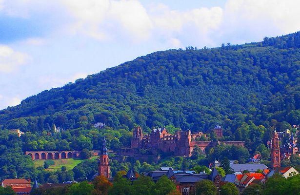 Heidelberg hat ein Schloss