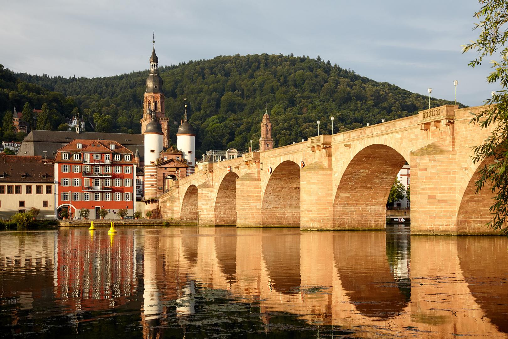 Heidelberg im Morgenlicht