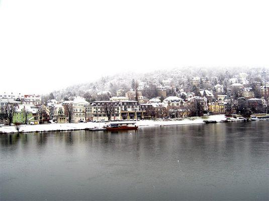 """Heidelberg im Nebel"""