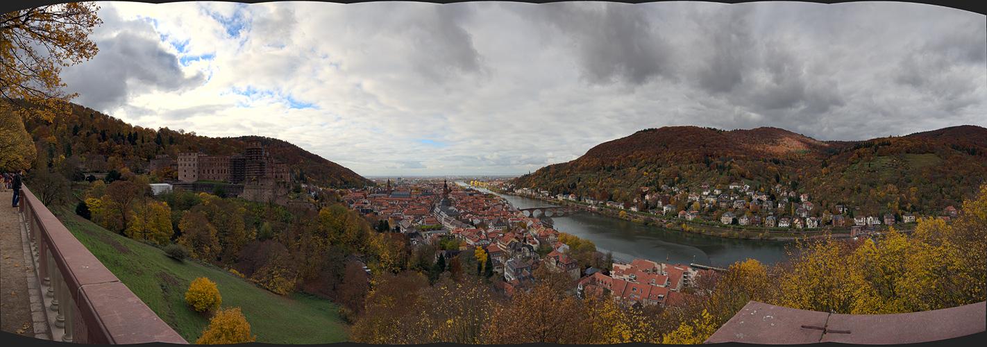 Heidelberg mit Schloß