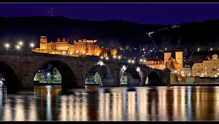 Heidelberg @ Night