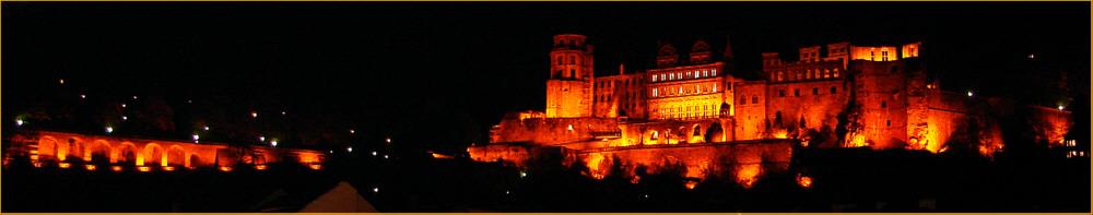 Heidelberger Schloß bei Nacht - [reload]