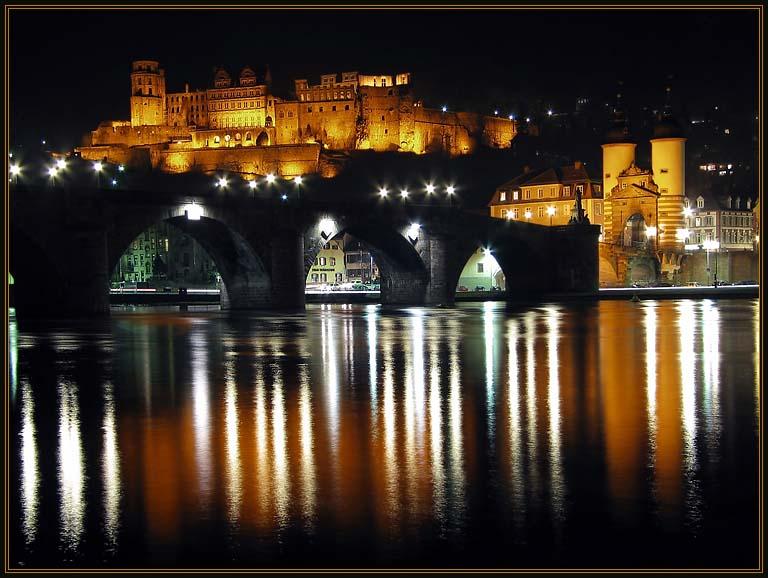 Heidelberger Schloß und Alte Brücke
