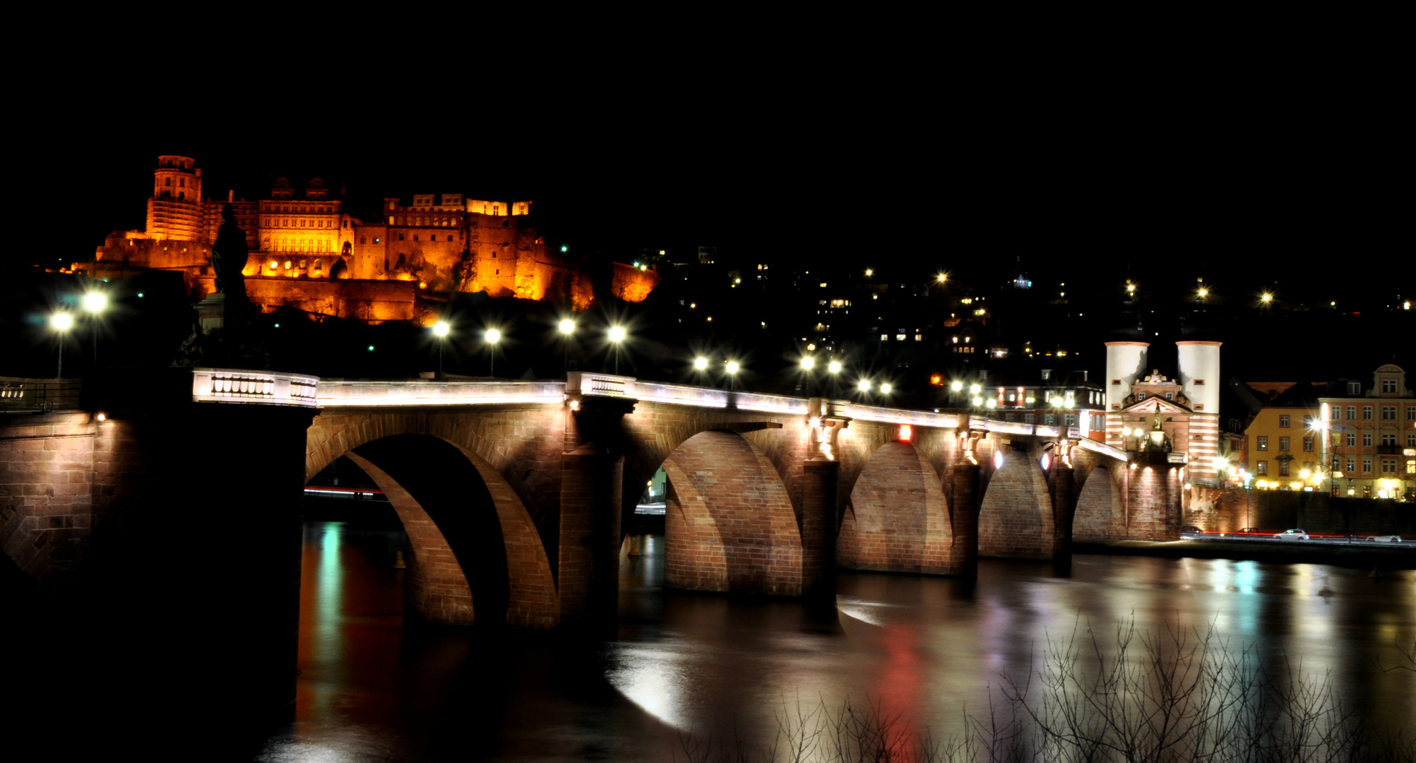 Heidelberg's most famous bridge