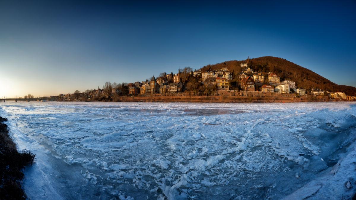 Heidelbergs Neckar