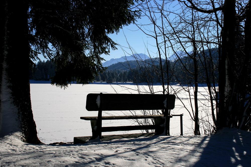 Heidsee im Winter