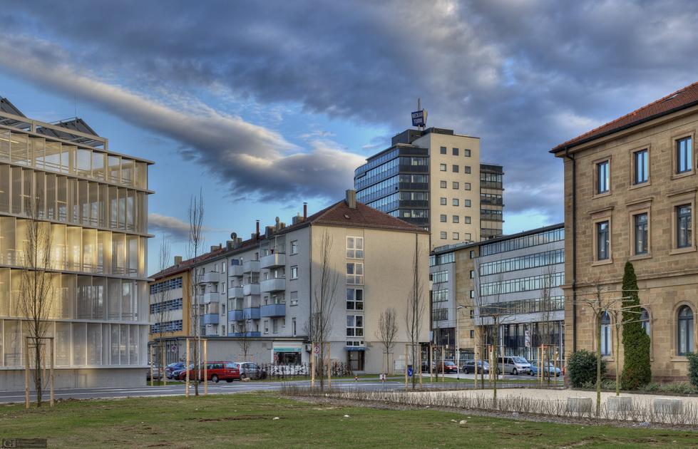 Heilbronn: Wohngebäude und Infrastrukturen