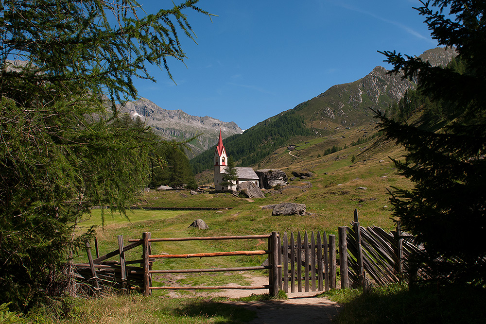 ... Heilig-Geist-Kirchlein im hinteren Ahrntal - Südtirol ...