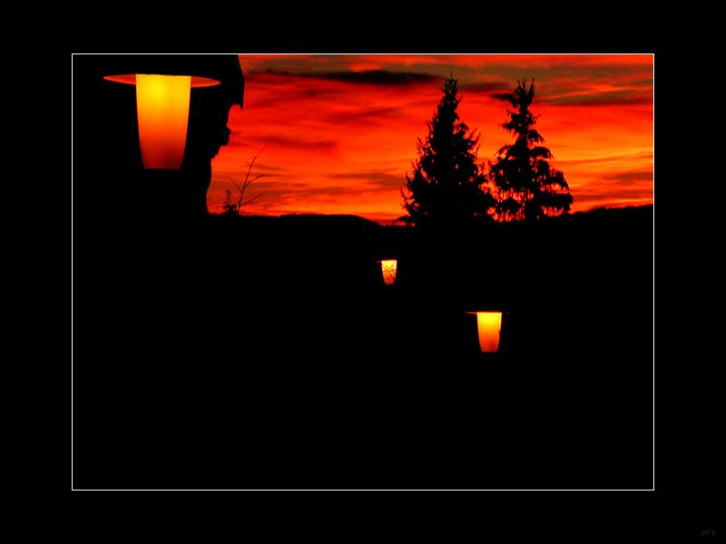 Heiligabend 2003: Beginn der Nacht