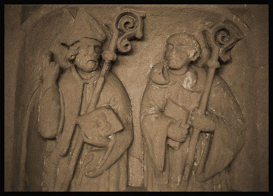 Heilige in Stein an der ABTEI BRAUWEILER