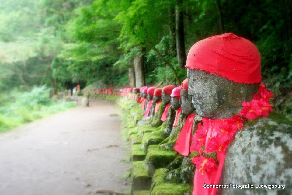 Heilige Statuen in Nikko