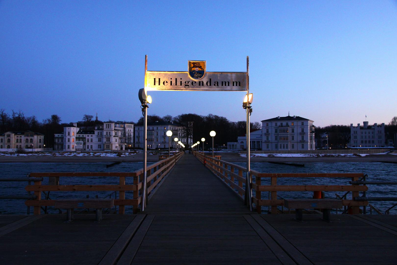 Heiligendamm - Seebrücke - Blickrichtung Ufer
