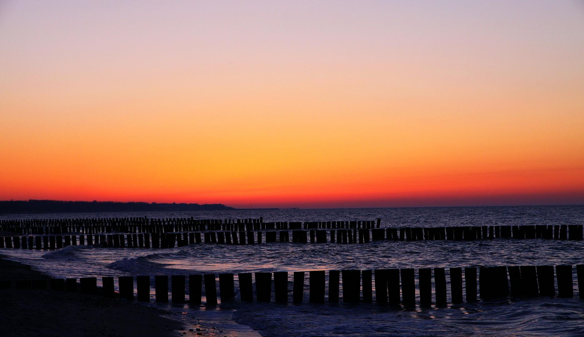 Heiligendamm - Sonnenuntergang