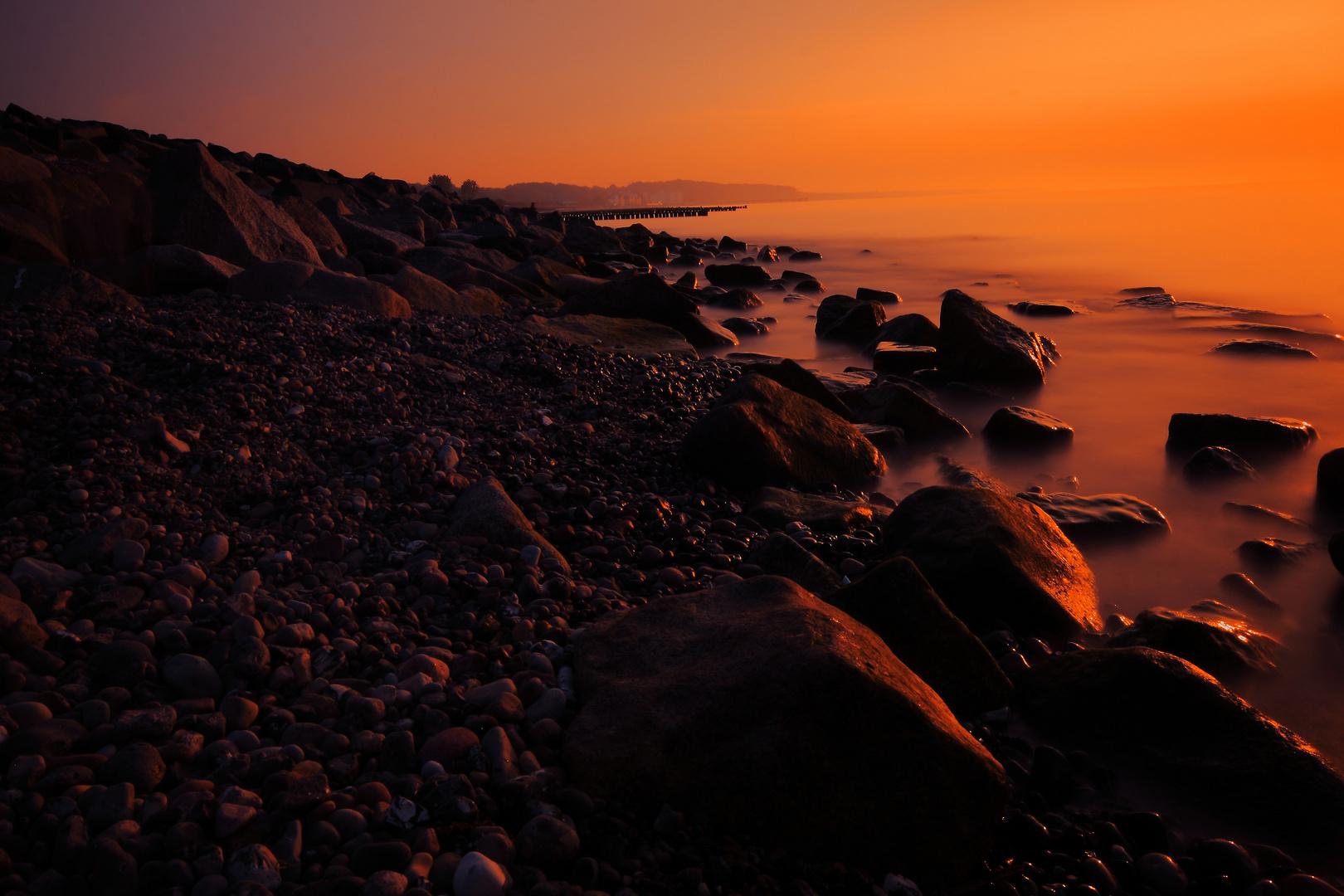 Heiligendamm Sonnenuntergang