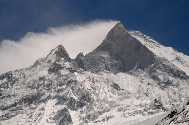 Heiliger Berg Machhapuchhare